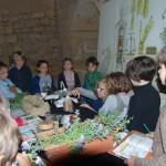 Démonstration atelier apothicaire plantes hydrodistillation